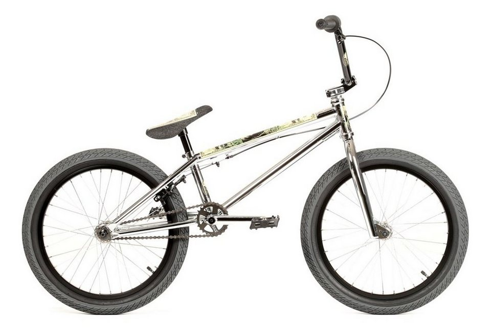 Stereo Bikes Fahrrad »Speaker« in silber
