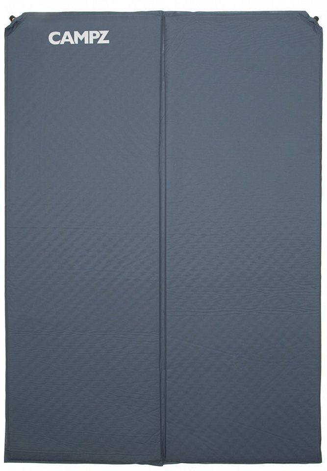 CAMPZ Luftmatratze »Classic Double Comfort Matte« in grau