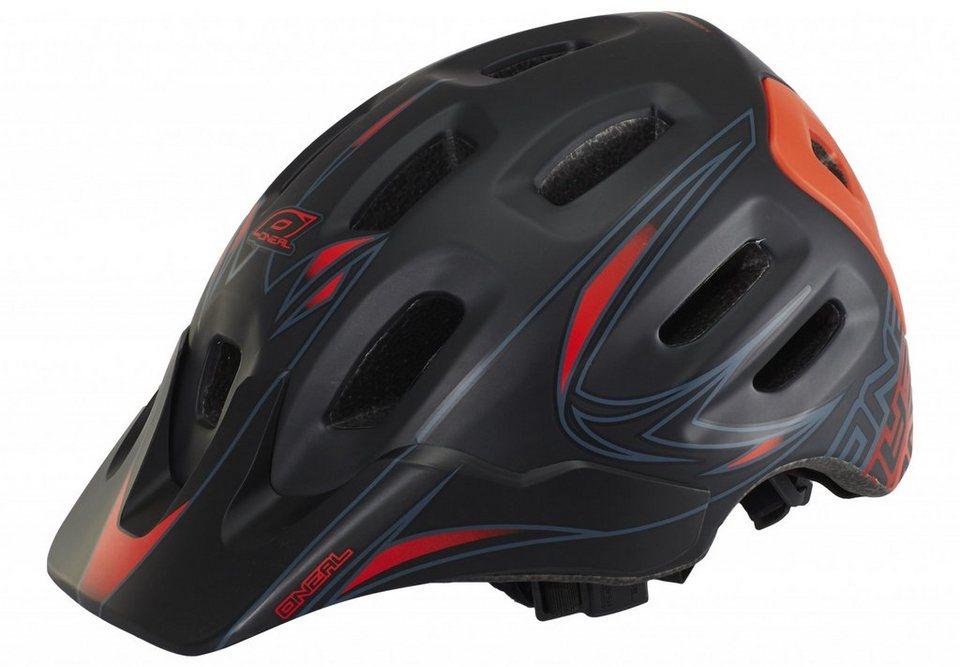 O'NEAL Fahrradhelm »Defender Helmet Tribal« in schwarz