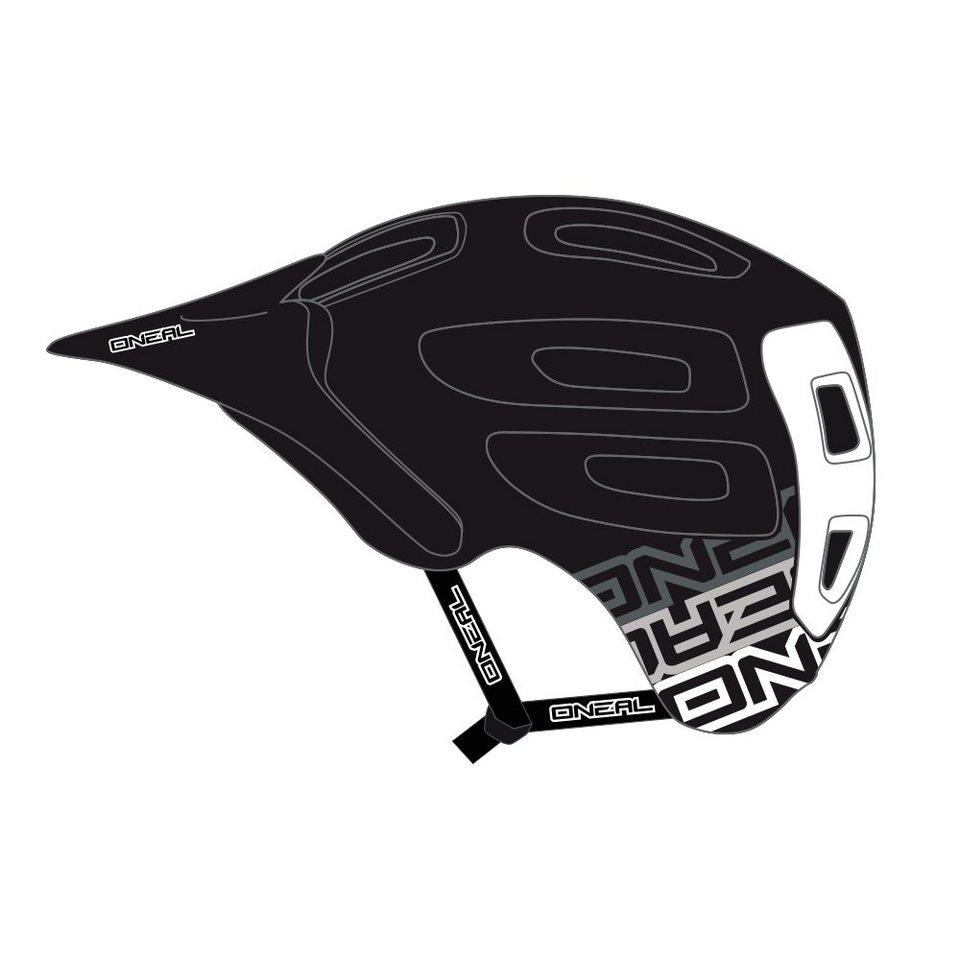 O'NEAL Fahrradhelm »Defender Helmet Flat« in schwarz