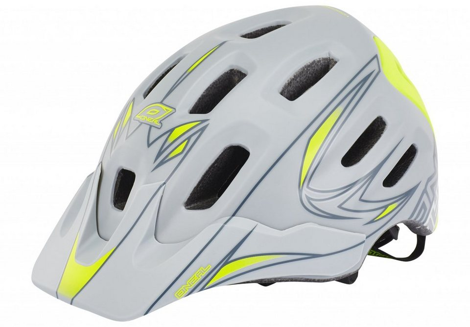 O'NEAL Fahrradhelm »Defender Helmet Tribal« in grau