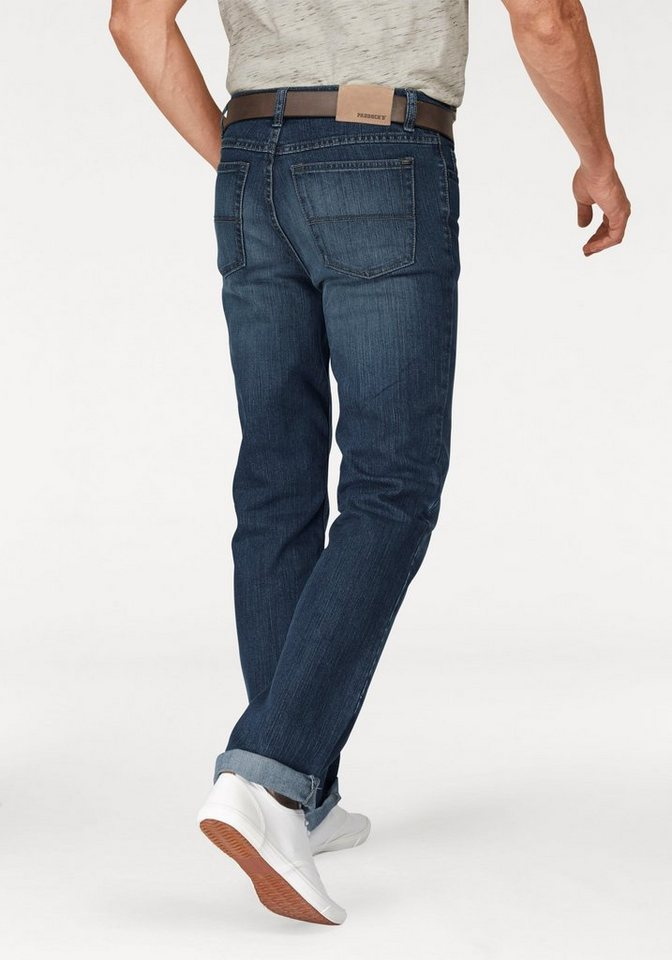 Paddock's Stretch-Jeans Straight Fit in blue-medium-stone