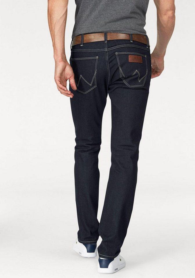 Wrangler Stretch-Jeans »Spencer« Slim Straight in rinse-broke