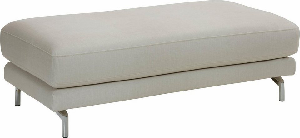 TOM TAILOR XXL Hocker »CLUB STYLE«, Exklusiv bei OTTO in ivory STC 1