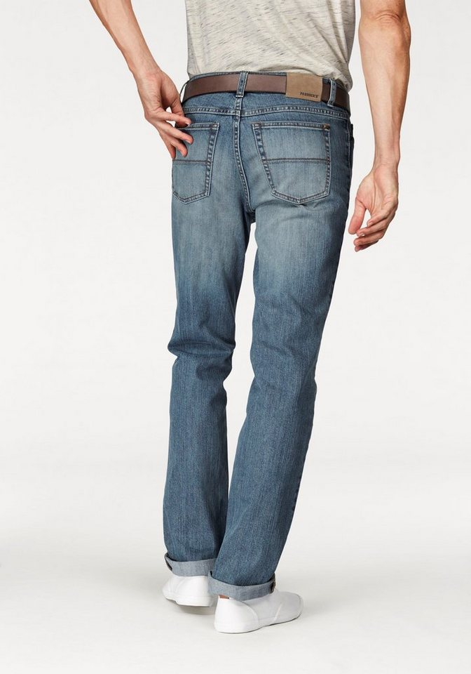 Paddock's Stretch-Jeans Straight Fit in blue-light-stone