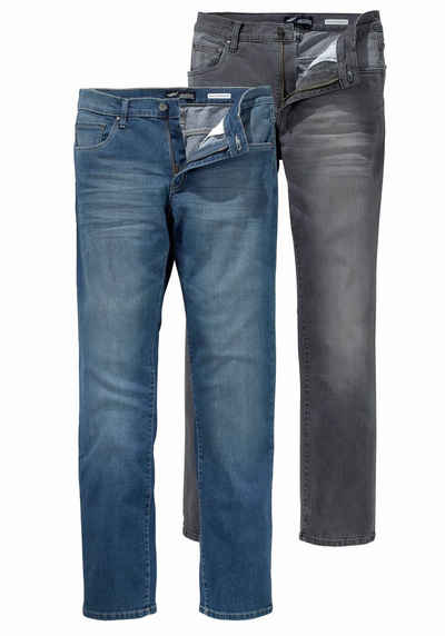 Arizona Stretch-Jeans »Willis« (Packung, 2-tlg) Straight Fit