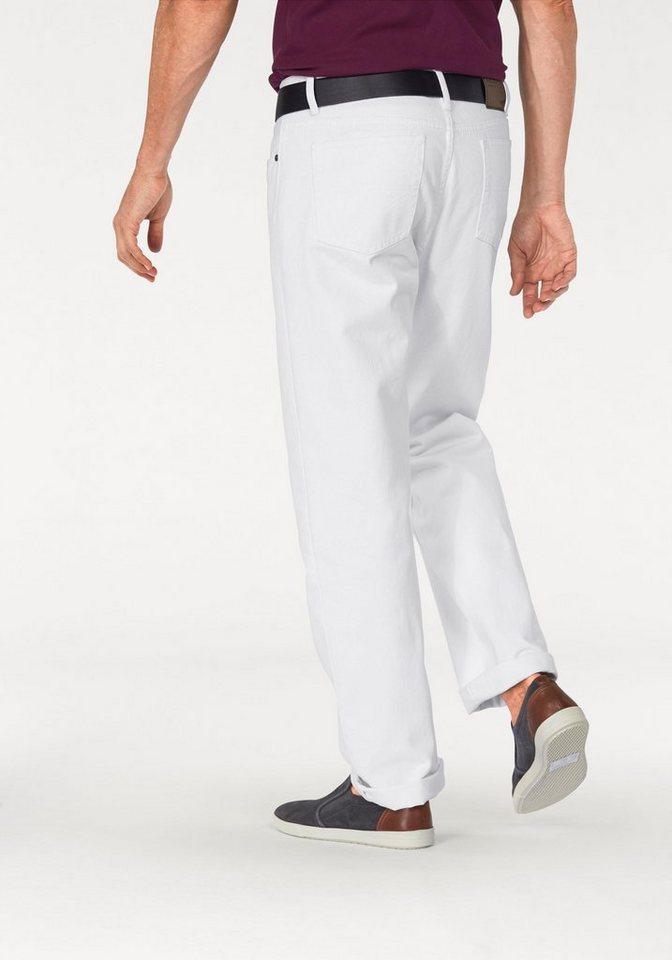 Arizona Bequeme Jeans »James« Regular Fit in weiß