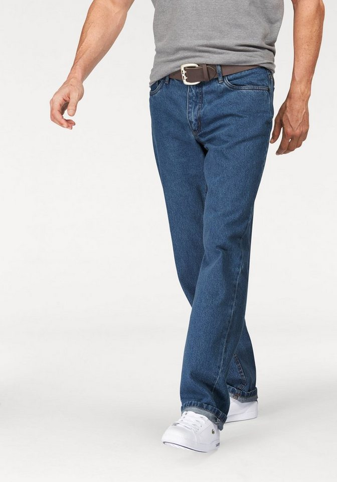 Arizona Bequeme Jeans »James« Regular Fit in blue-stone