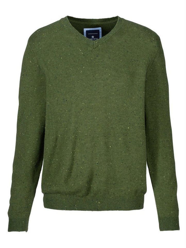 Babista Pullover aus Effektgarn in grün