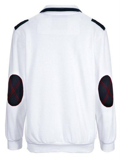 Babista Sweatshirt mit Ellenbogenpatches