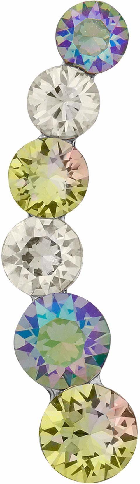 Lolaandgrace Single-Ohrstecker »GLAM EAR CLIMBER, 5251737«, mit Swarovski® Kristallen