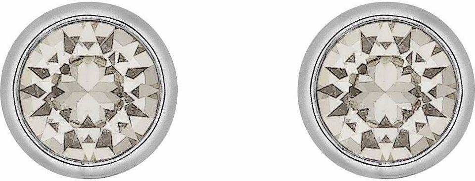 Lolaandgrace Paar Ohrstecker »STONE STUDS, 5224318« mit Swarovski® Kristallen in silberfarben