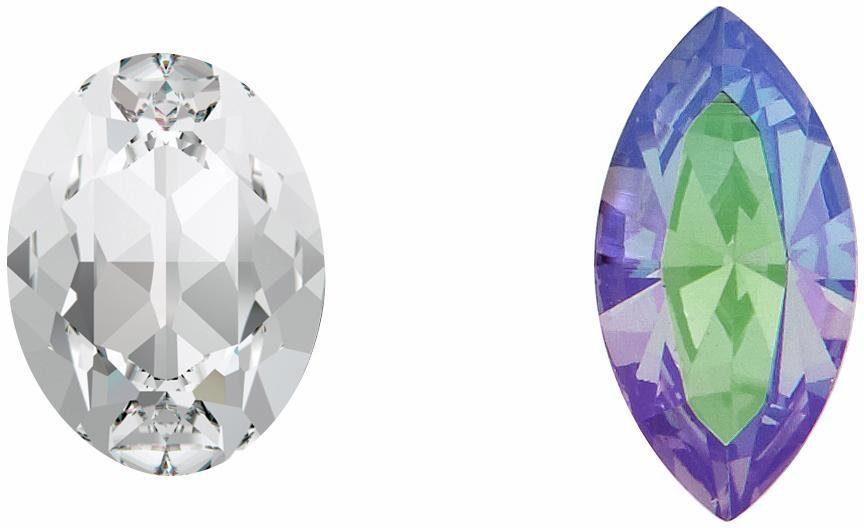 Lolaandgrace Paar Ohrstecker »GLAM STUDS, 5251735«, mit Swarovski® Kristallen