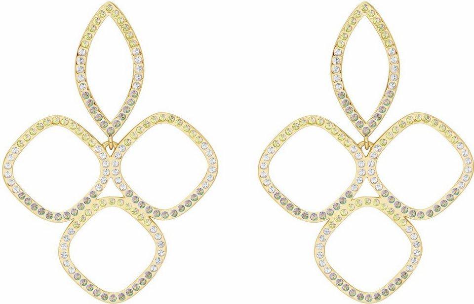 Lolaandgrace Paar Ohrstecker »CAPRI EARRINGS, 5251961« mit Swarovski® Kristallen in goldfarben-mehrfarbig