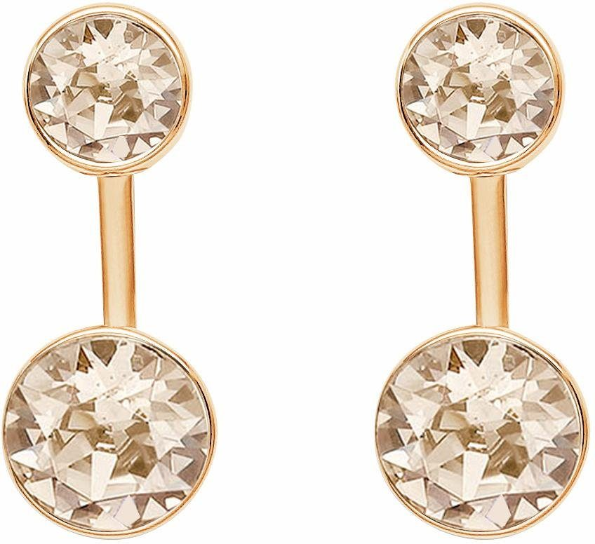 Lolaandgrace Paar Ohrstecker »STONE EAR JACKETS, 5217055«, mit Swarovski® Kristallen