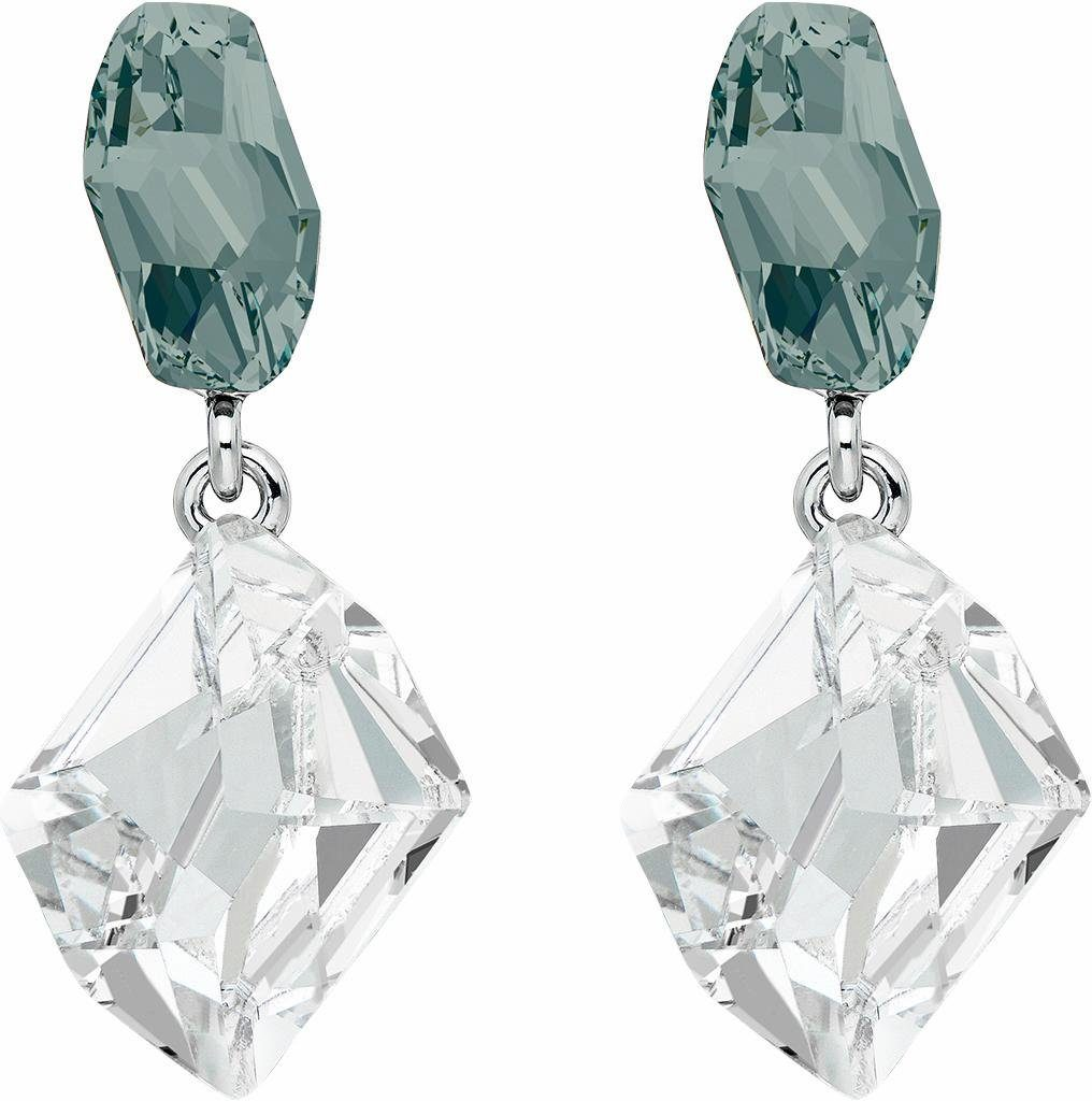 Lolaandgrace Paar Ohrstecker »GALACTIC DOUBLE DROPS, 5251870«, mit Swarovski® Kristallen