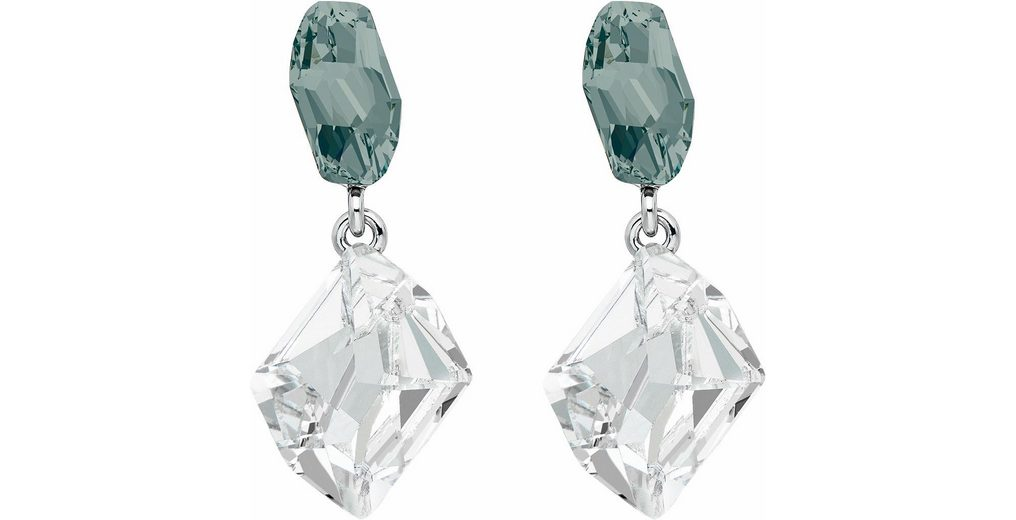 Lolaandgrace Paar Ohrstecker »GALACTIC DOUBLE DROPS, 5251870« mit Swarovski® Kristallen