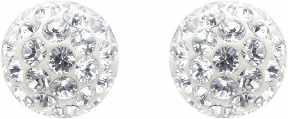 Lolaandgrace Paar Ohrstecker »RIO MINI STUDS, 5066961« mit Swarovski® Kristallen in silberfarben