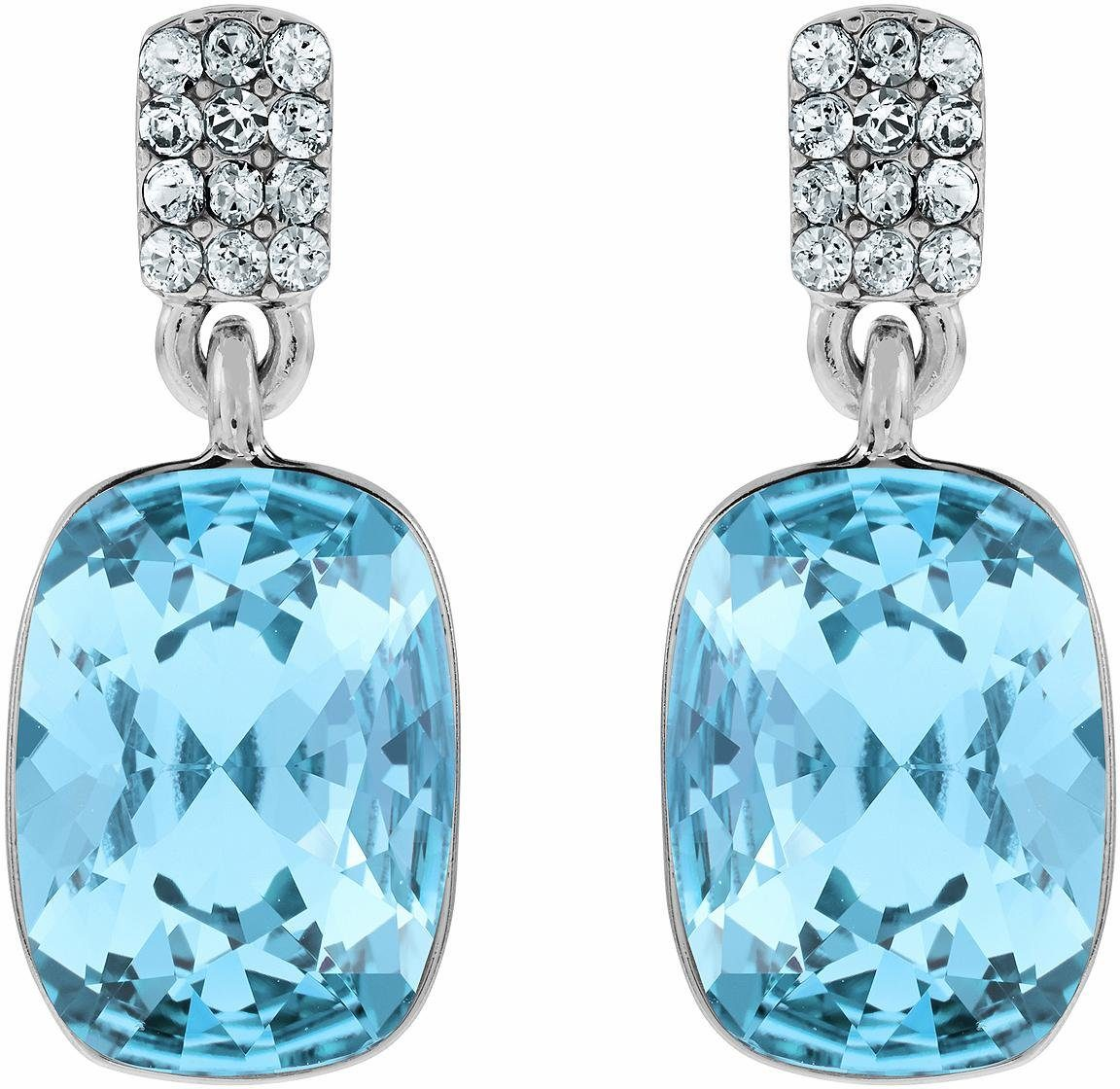 Lolaandgrace Paar Ohrstecker »CHATEAU SQUARE DROPS, 5140865« mit Swarovski® Kristallen