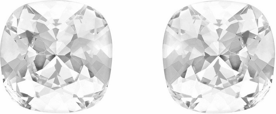 Lolaandgrace Paar Ohrstecker »GEM STUDS, 1158204« mit Swarovski® Kristallen in silberfarben