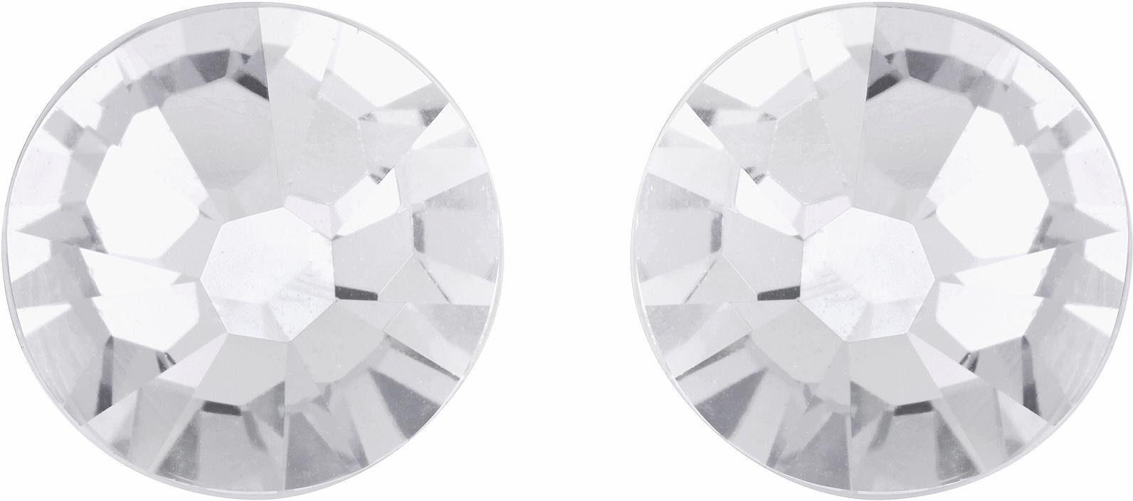 Lolaandgrace Paar Ohrstecker »STONE SIMPLE STUDS, 1158308« mit Swarovski® Kristallen