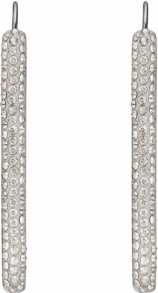 Lolaandgrace Paar Ohrstecker »VEGAS EARRINGS, 5216966« mit Swarovski® Kristallen in silberfarben