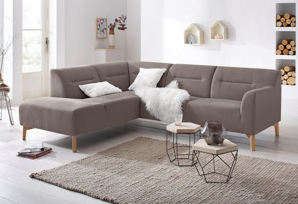 Eckcouch taupe for Ecksofa taupe