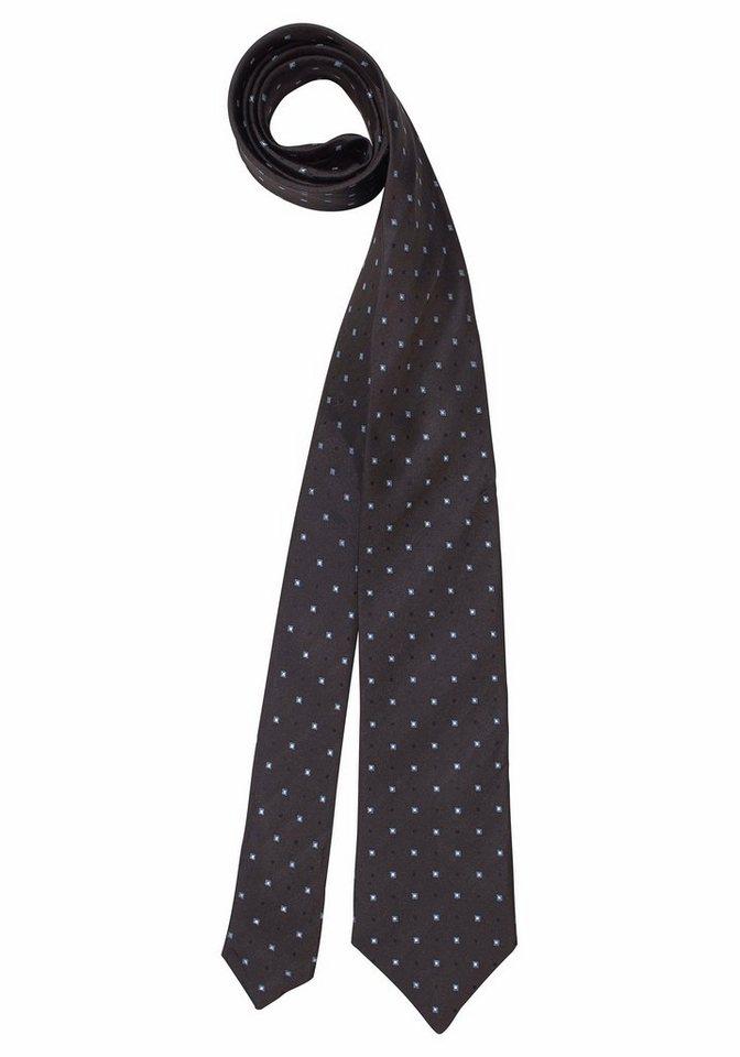 Studio Coletti Krawatte in braun-gepunktet