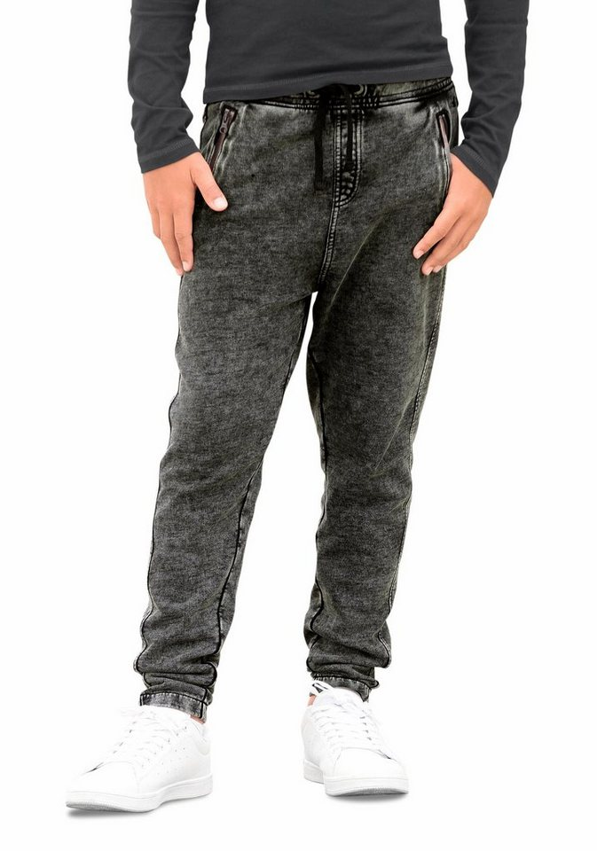 s.Oliver RED LABEL Junior Sweathose in dark-grey