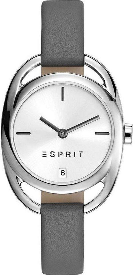Esprit Quarzuhr »ESPRIT-TP10818 GREY, ES108182001« in grau