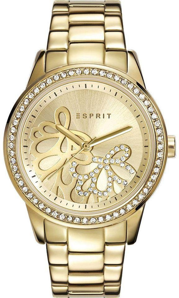 Esprit Quarzuhr »ESPRIT-TP10812 GOLD, ES108122005« in goldfarben