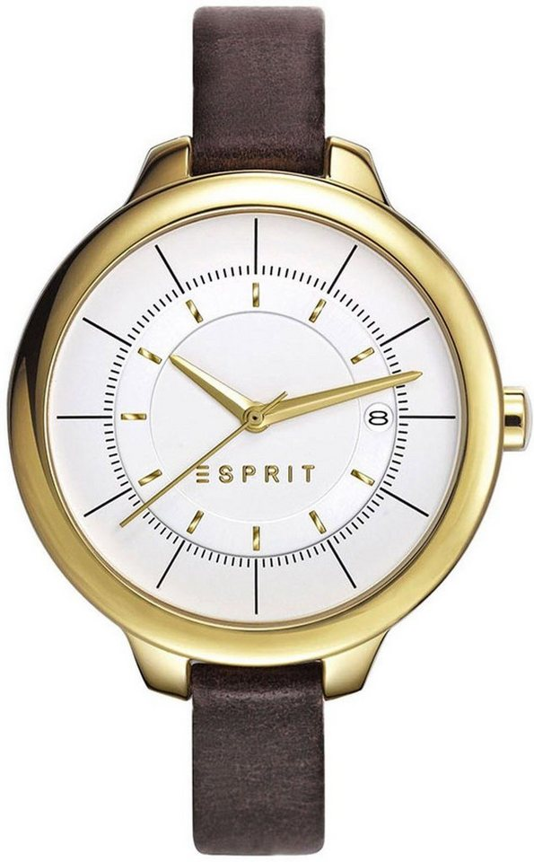 Esprit Quarzuhr »ESPRIT-TP10819 BROWN, ES108192002« in braun