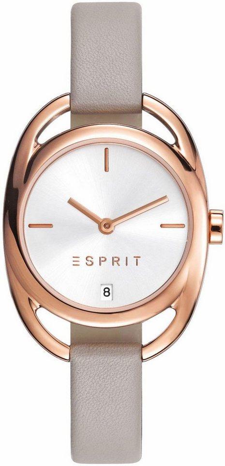 Esprit Quarzuhr »ESPRIT-TP10818 TAUPE. ES108182003« in taupe-beige