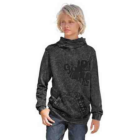 s.Oliver RED LABEL Junior Kapuzensweatshirt Mit Reißverschluss an der Schulter