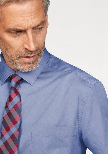 Studio Coletti Businesshemd (Set, 3 tlg., mit Krawatte und Einstecktuch)