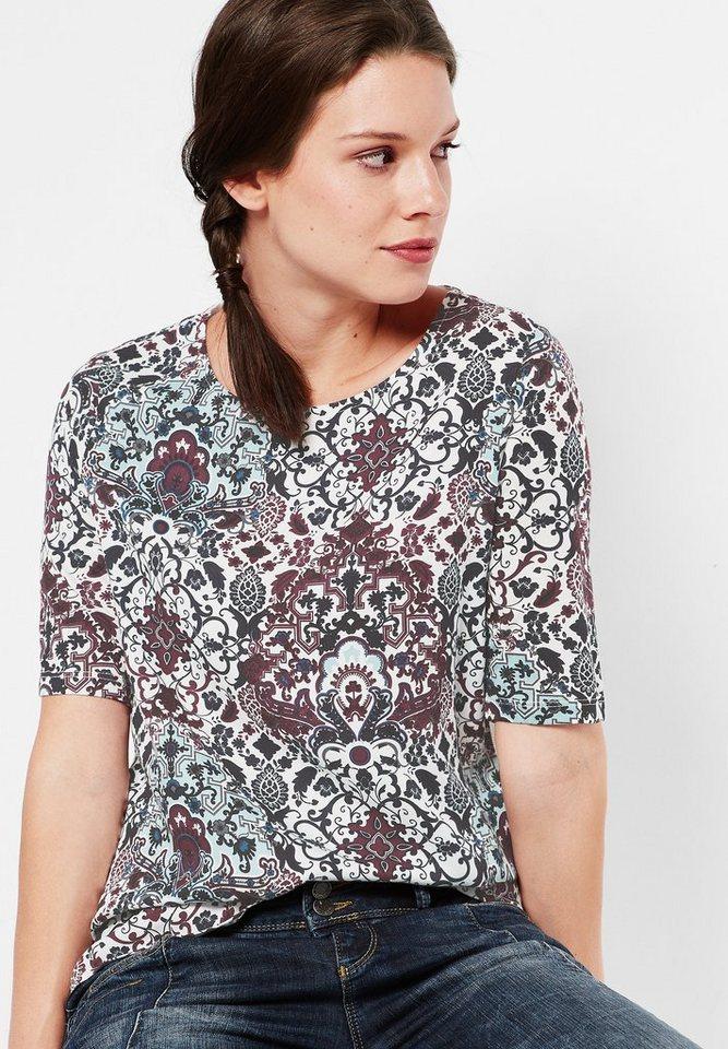 Street One Shirt mit Print Hanna in off white