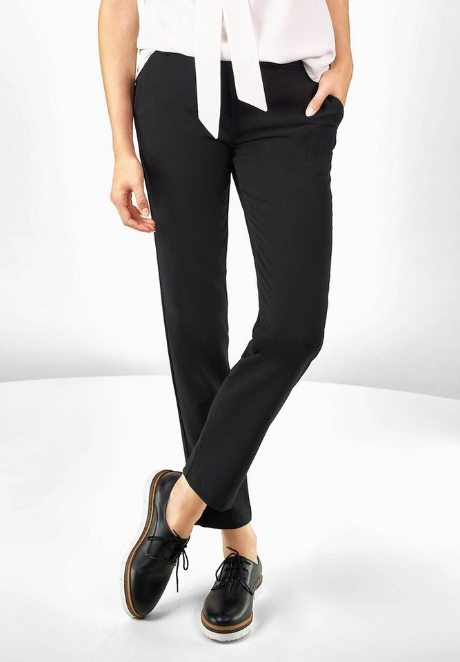 Street One Casual Fit Hose Lou in black