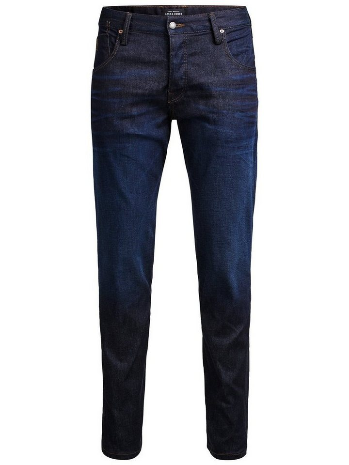 Jack & Jones Mike Ron Jos 612 Comfort Fit Jeans in Blue Denim