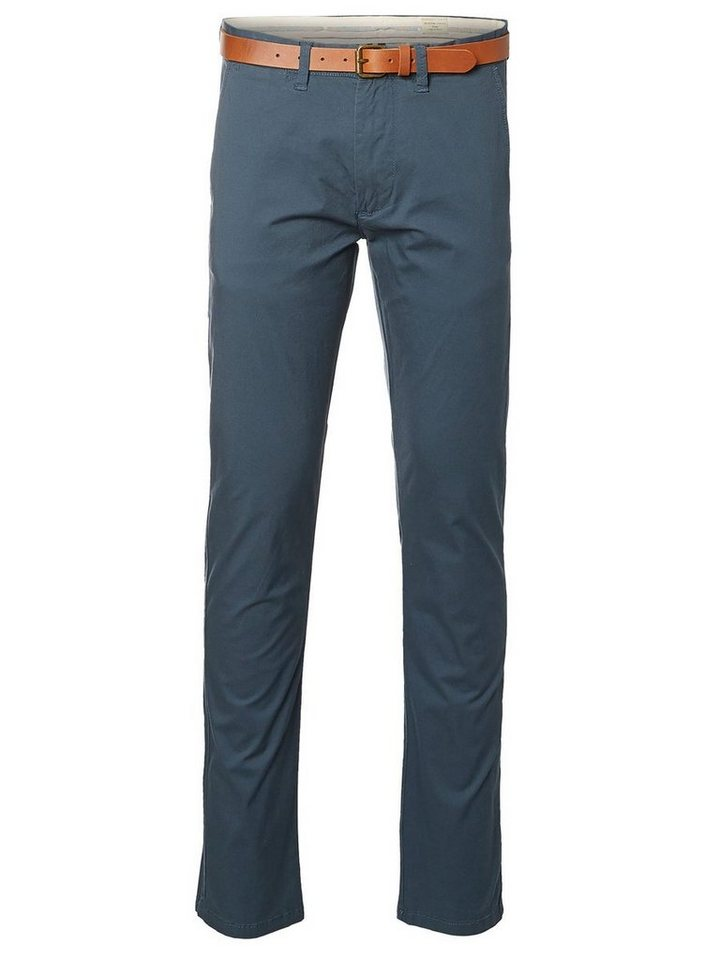 Selected Slim-Fit- Chino in Orion Blue