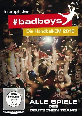 DVD »Triumph der #badboys - Die Handball-EM 2016:...«