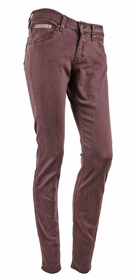 Herrlicher Jeans »Touch Slim Drill Stretch« in lila