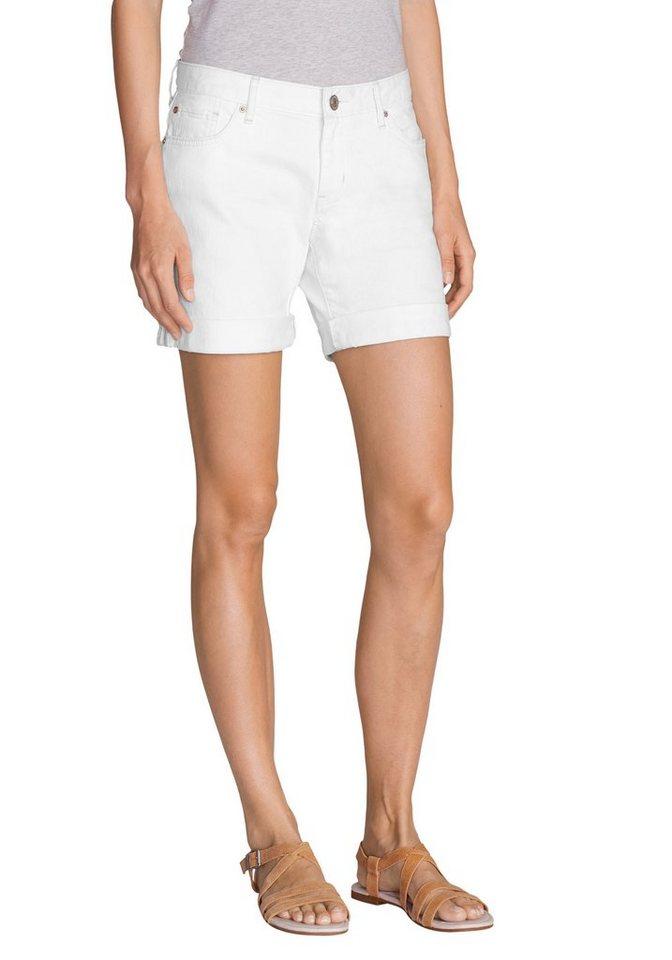 Eddie Bauer Boyfriend Shorts in Weiß