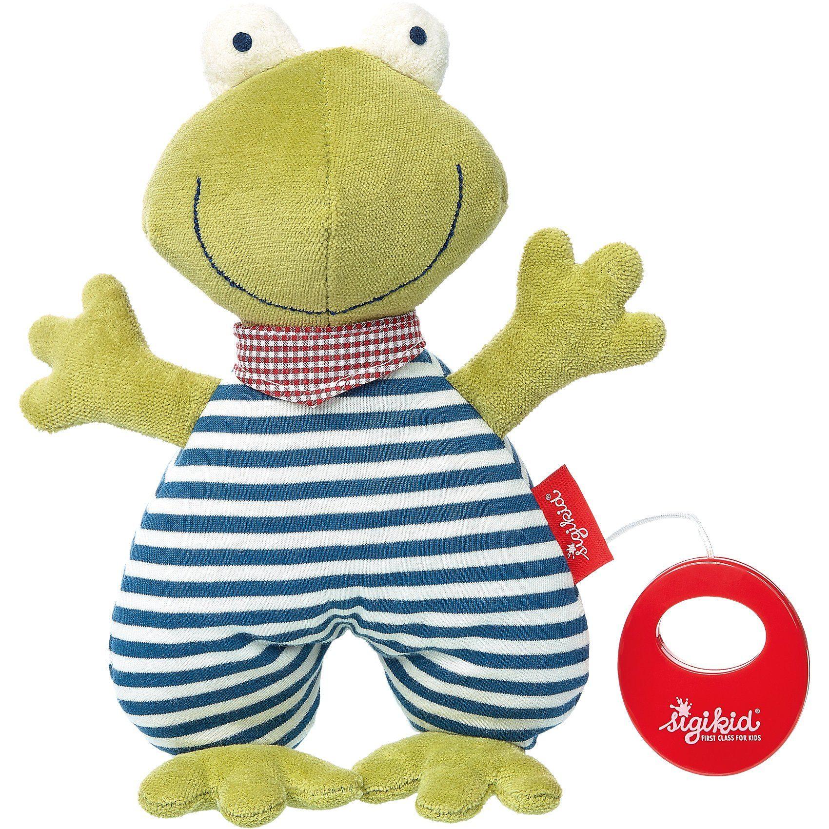 sigikid Spieluhr Frosch Organic (41386)