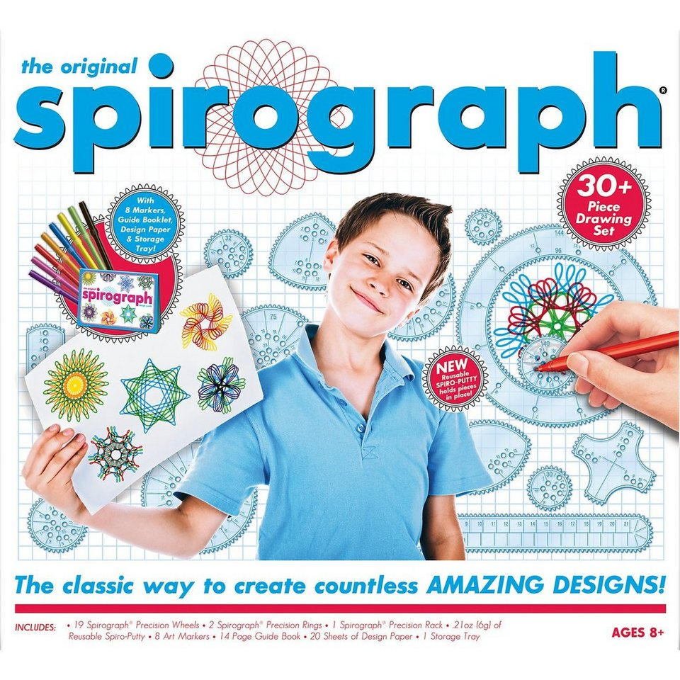 BOTI Spirograph® - Kit mit Stiften