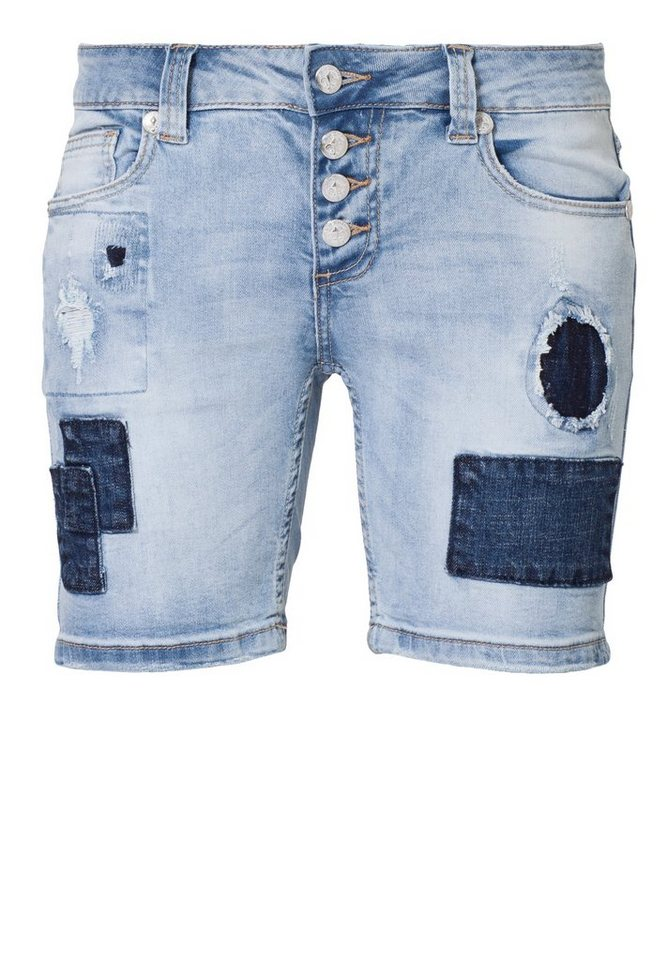 Blue Monkey Shorts »Rosi 1022« in hellblau