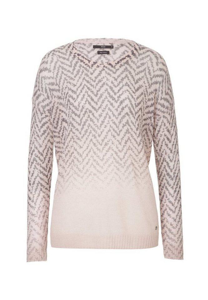 BRAX Pullover »LIZ« in ROSE DUST