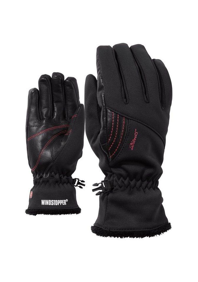 Ziener Handschuh »ISABELLE GWS PR LADY glove multispo« in black