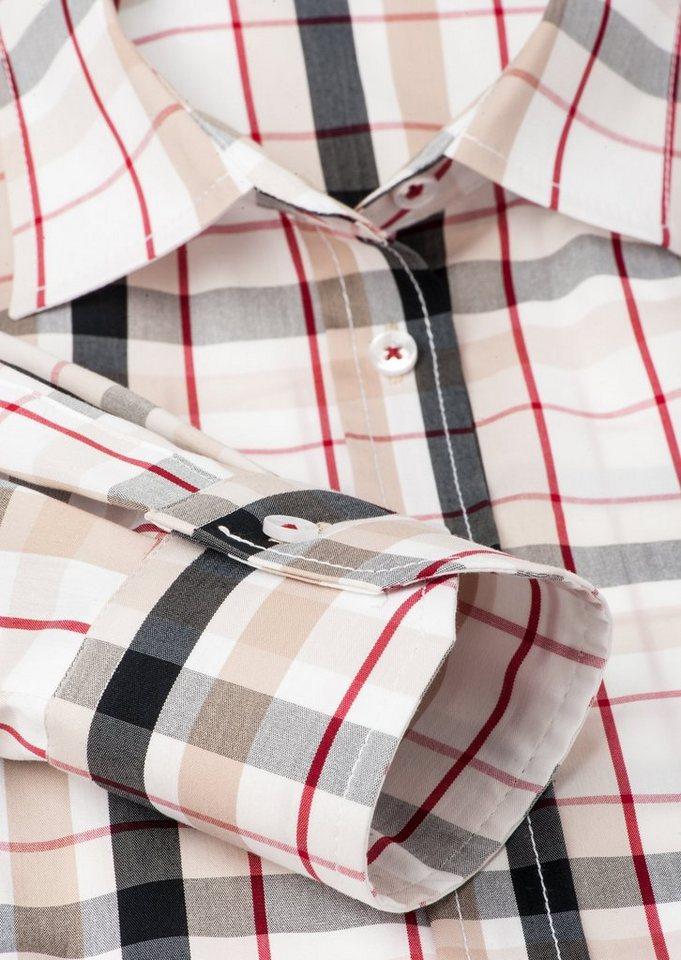 ETERNA 1/1-Arm Bluse »COMFORT FIT« in schwarz