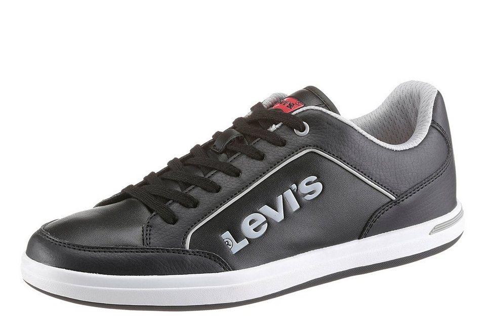 Levi's® Sneaker mit seitlichem Logo in schwarz