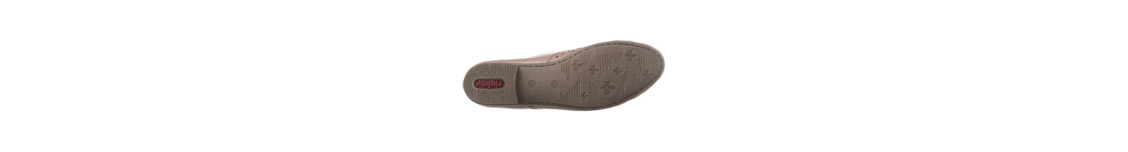 Rieker Schnürschuh, mit Perforation